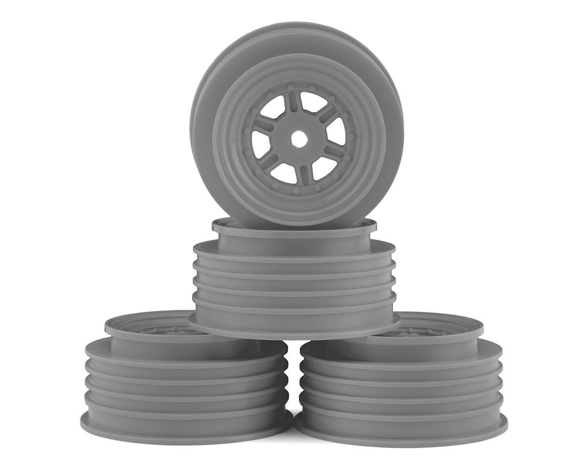 DE Racing Gambler Front Wheels (TLR Offset) (Silver)