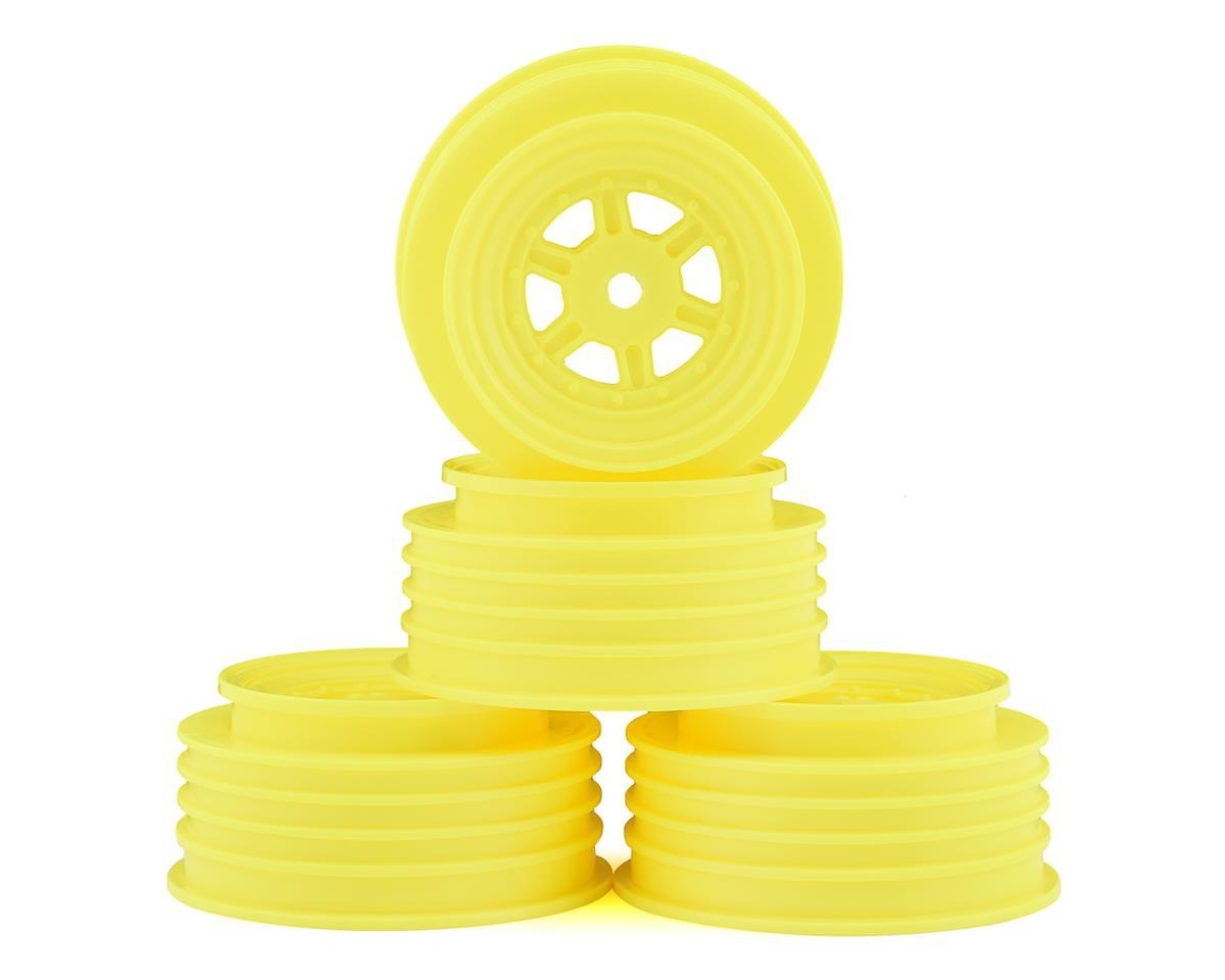 DE Racing Gambler Front Wheels (TLR Offset) (Yellow) | alsopurchased