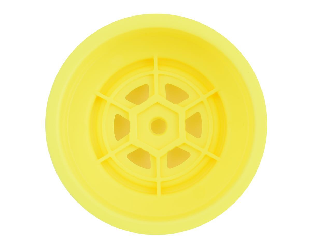DE Racing Gambler Front Wheels (TLR Offset) (Yellow)