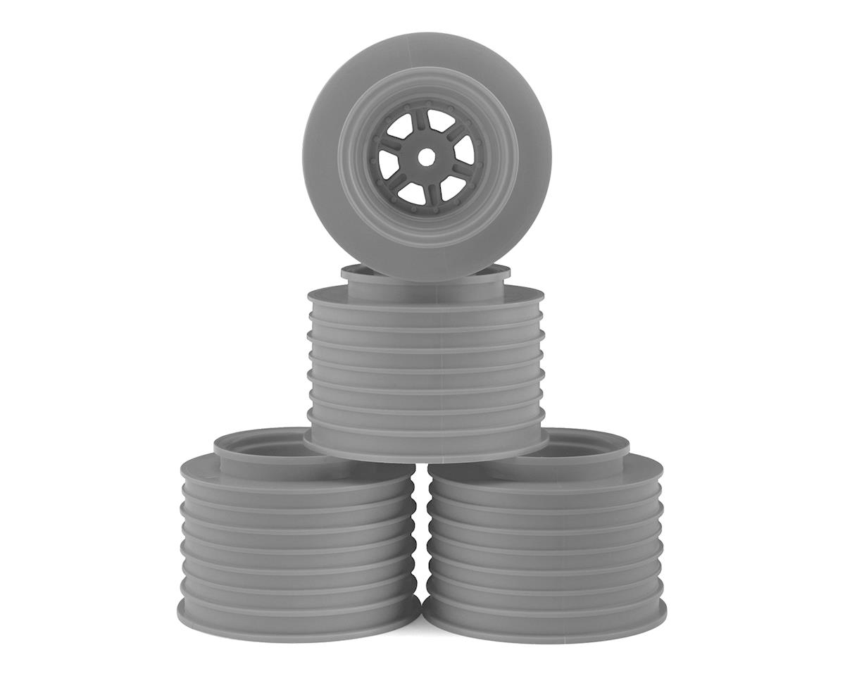 DE Racing Gambler Rear Sprint Wheels (AE/TLR) (Silver)