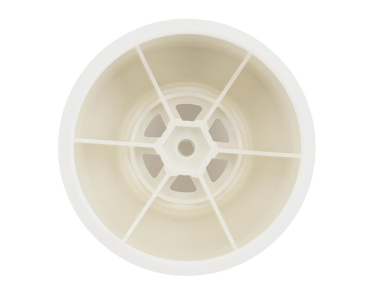 DE Racing Outlaw Sprint Gambler Rear Sprint Wheels (AE/TLR) (White)
