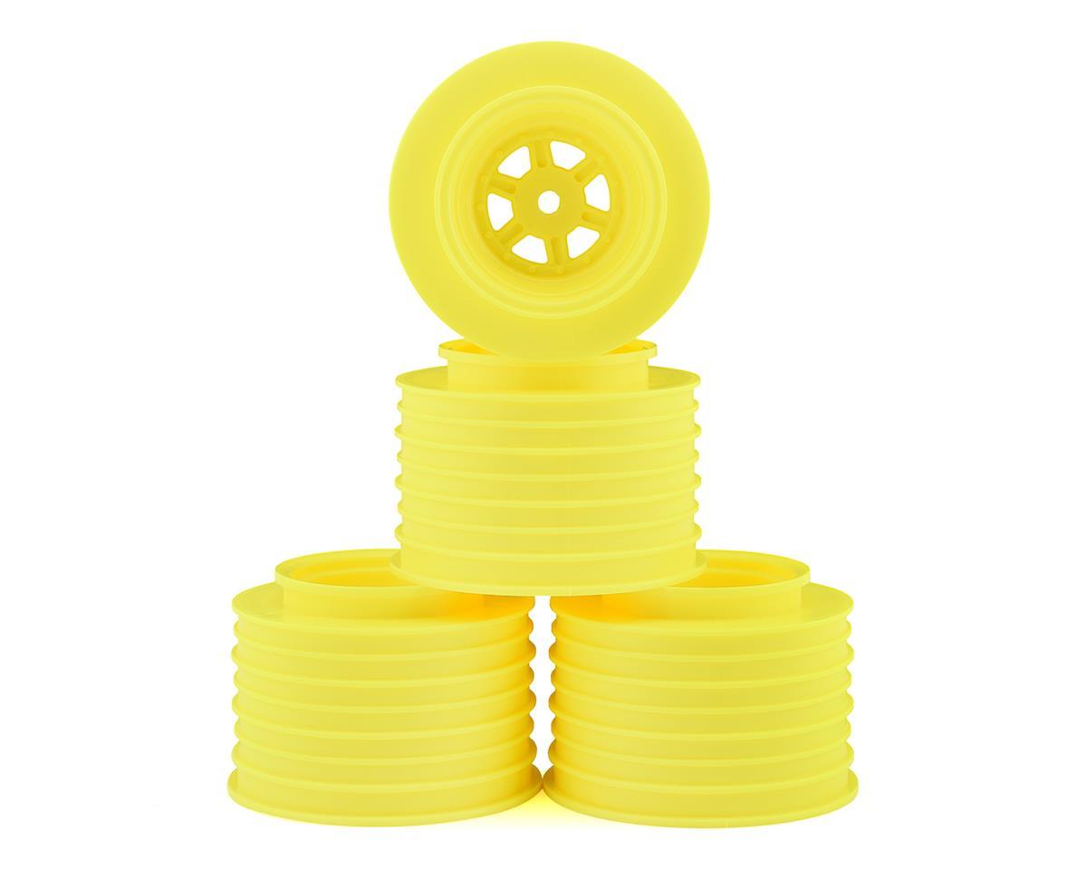 DE Racing Gambler Rear Sprint Wheels (AE/TLR) (Yellow)