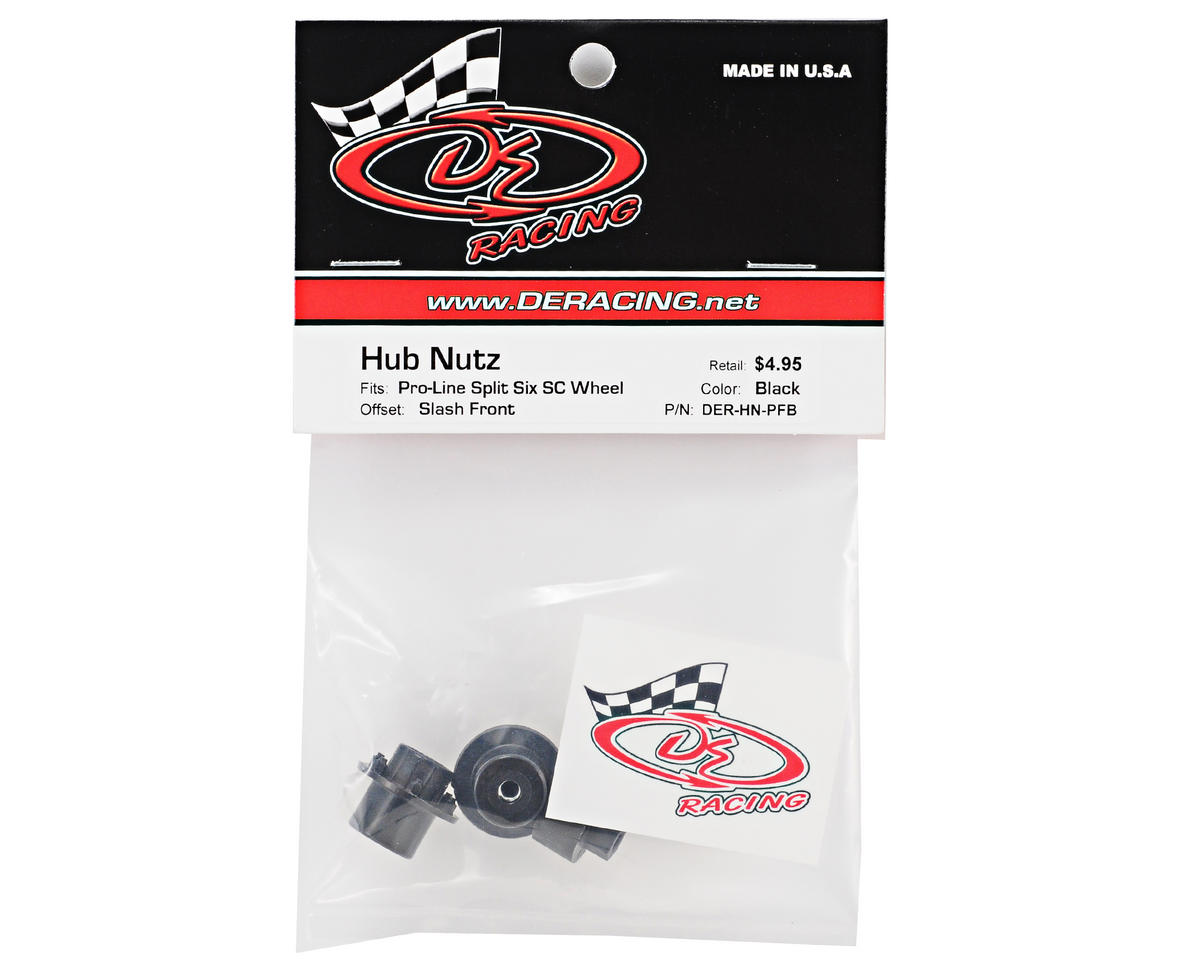 DE Racing Hub Nutz (2) (Proline Slash Front)