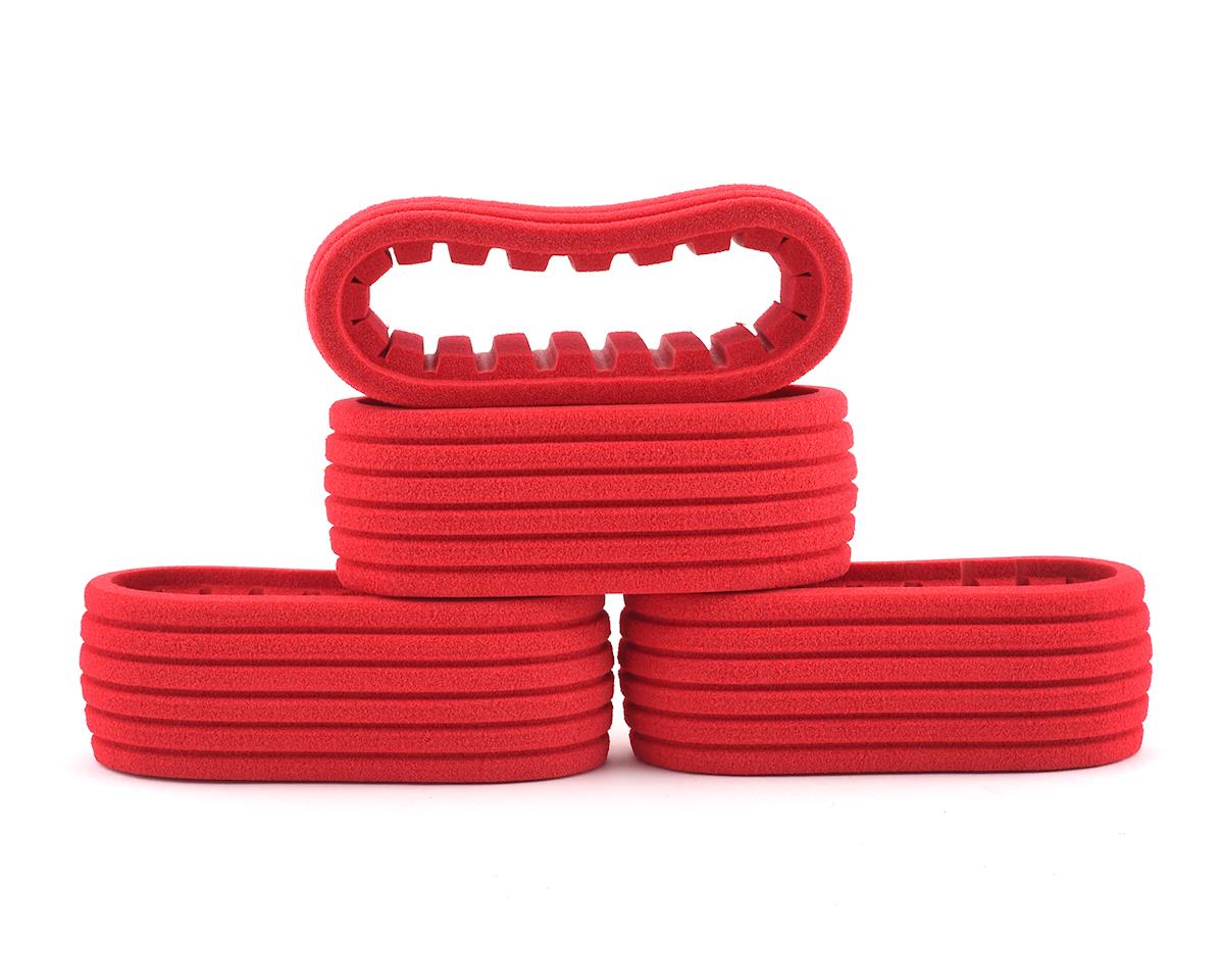 DE Racing Short Course 2.2/3.0 Closed Cell Inserts (Red) (4)