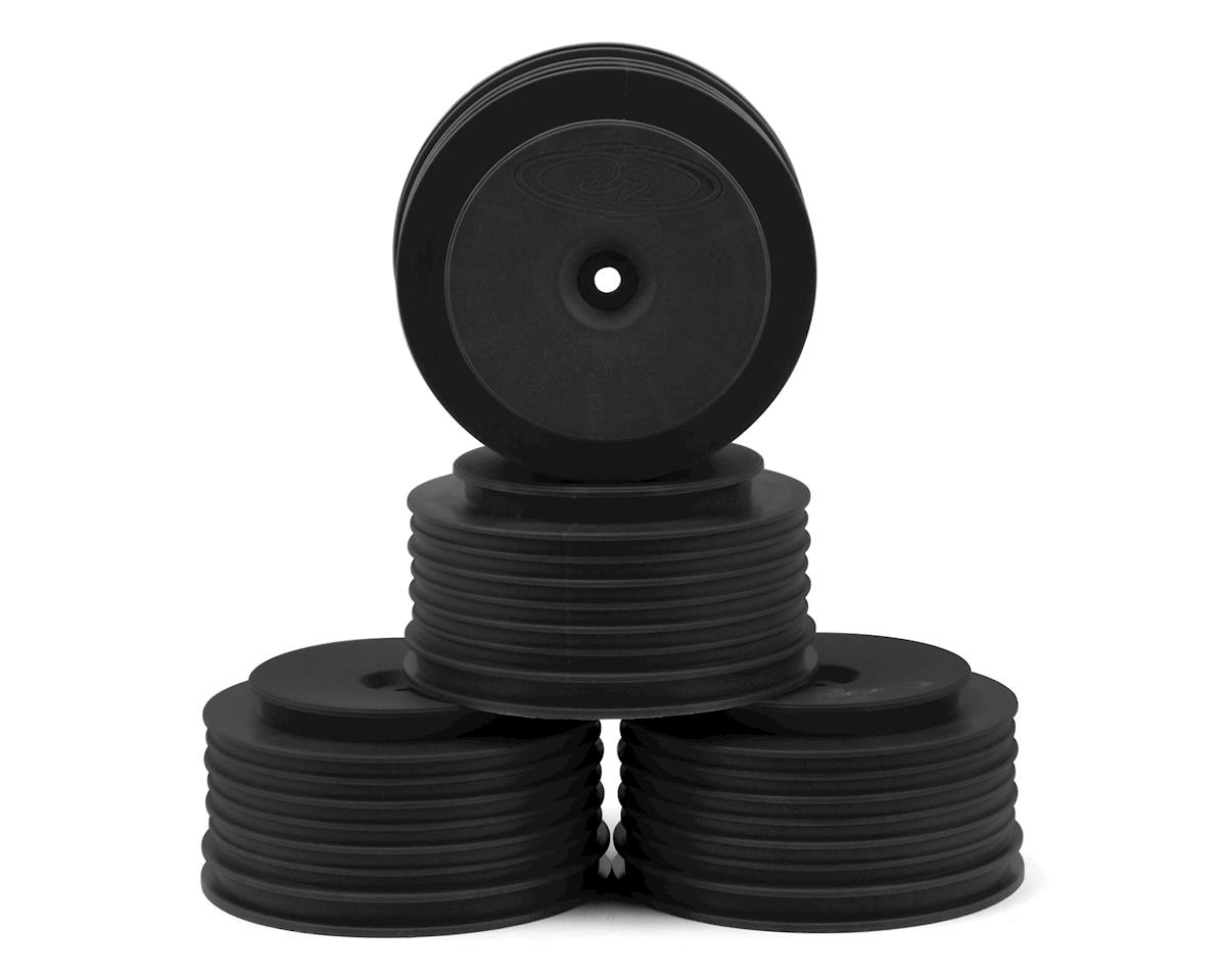 "DE Racing 12mm Hex ""Speedline PLUS"" Short Course Wheels (Black) (4) (SC5M) (Team Associated SC10.2)"