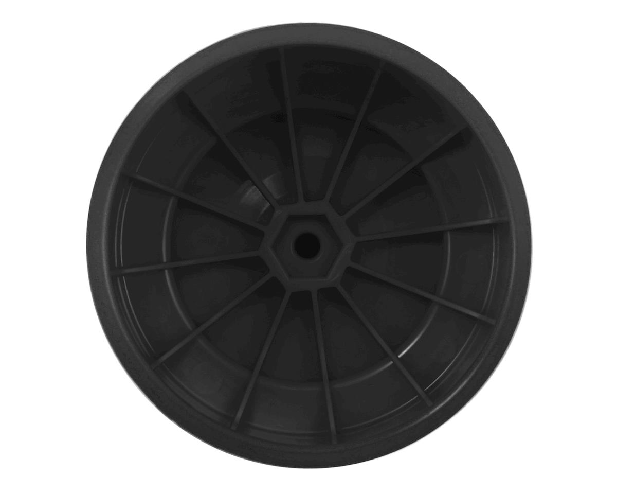 "DE Racing 12mm Hex ""Speedline PLUS"" Short Course Wheels (Black) (4) (SC5M)"