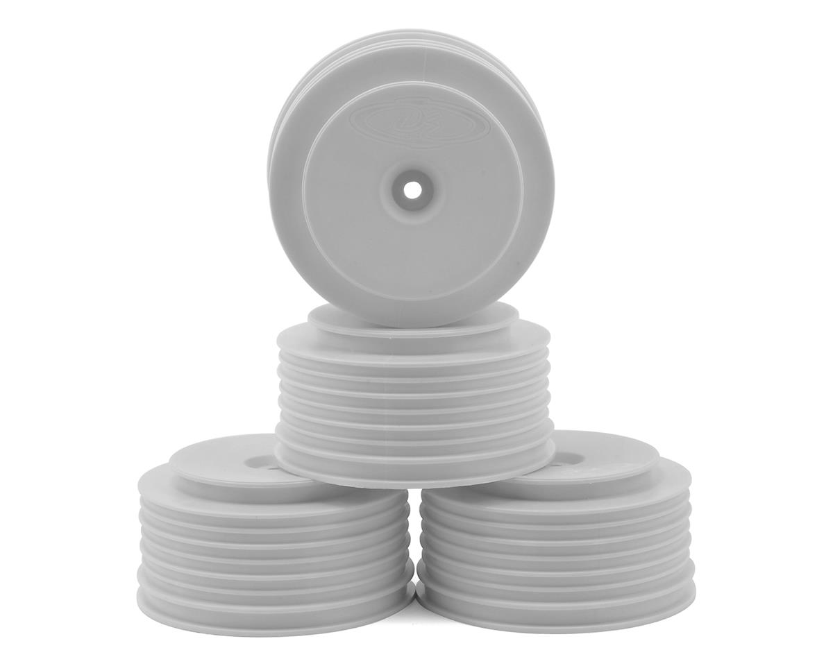 "DE Racing 12mm Hex ""Speedline PLUS"" Short Course Wheels (White) (4) (SC5M) (Team Associated SC10.2)"