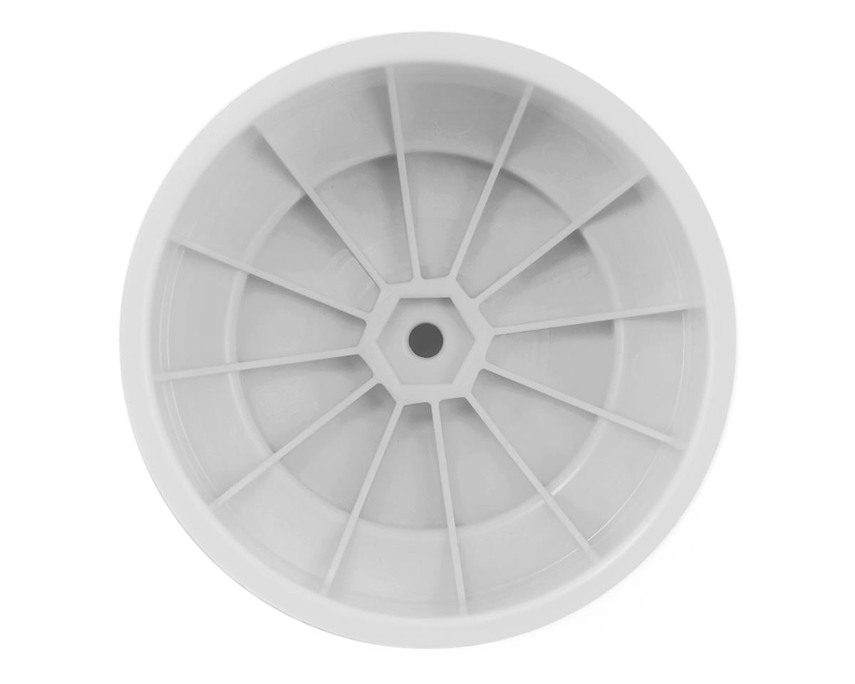 "DE Racing 12mm Hex ""Speedline PLUS"" Short Course Wheels (White) (4) (SC5M)"