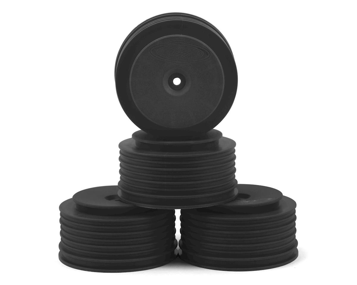 DE Racing Speedline PLUS Short Course Wheels (Black) (4) (Losi TEN-SCTE 2.0)