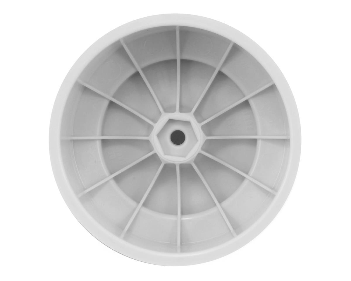 DE Racing Speedline PLUS Short Course Wheels (White) (4) (SC6/Slash/Blitz)