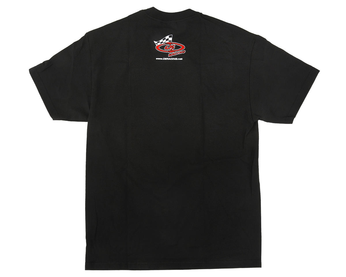 "DE Racing ""SpeedLine PLUS"" T-Shirt (Black) (2XL)"