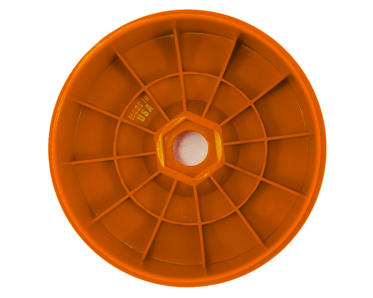 "DE Racing ""SpeedLine PLUS"" 1/8 Buggy Wheel (4) (Orange)"