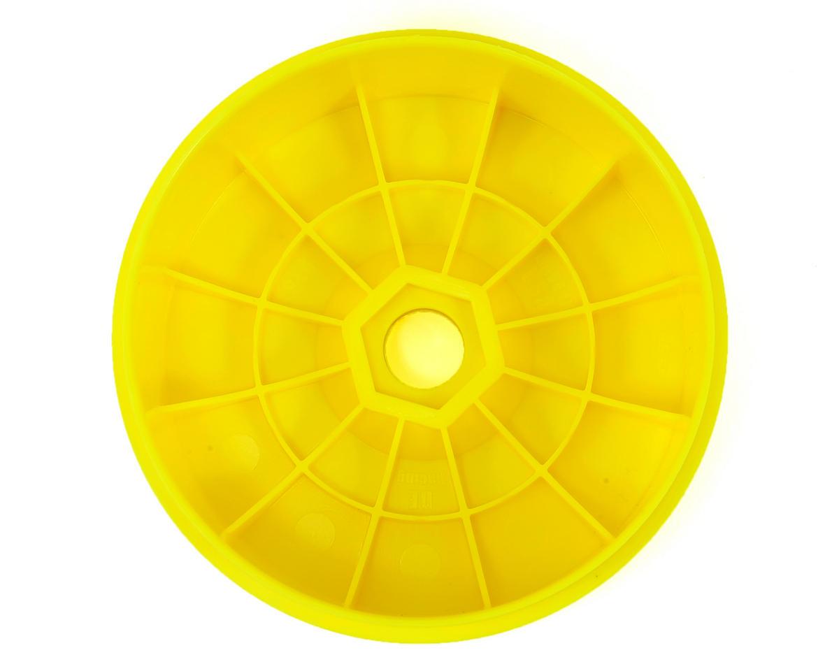 """DE Racing """"SpeedLine PLUS"""" 1/8 Buggy Wheel (4) (Yellow)"""