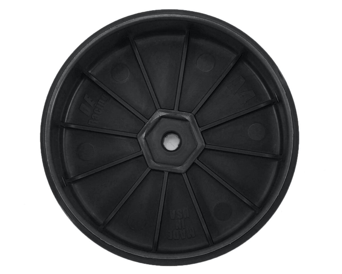 DE Racing Speedline PLUS 2.4 4WD Front Buggy Wheel (2) (Black)
