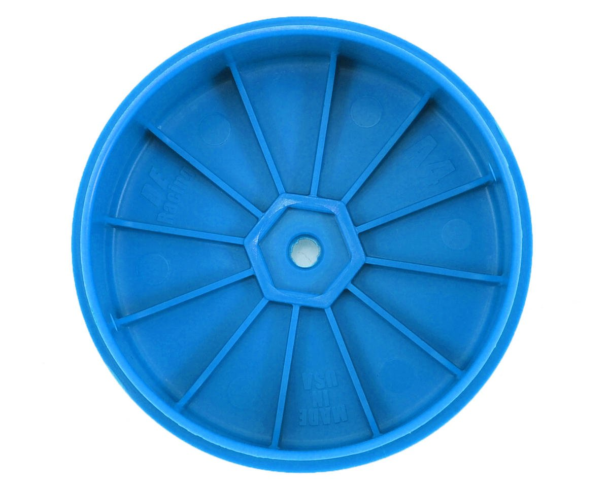 DE Racing Speedline PLUS 2.4 4WD Front Buggy Wheel (2) (Blue)