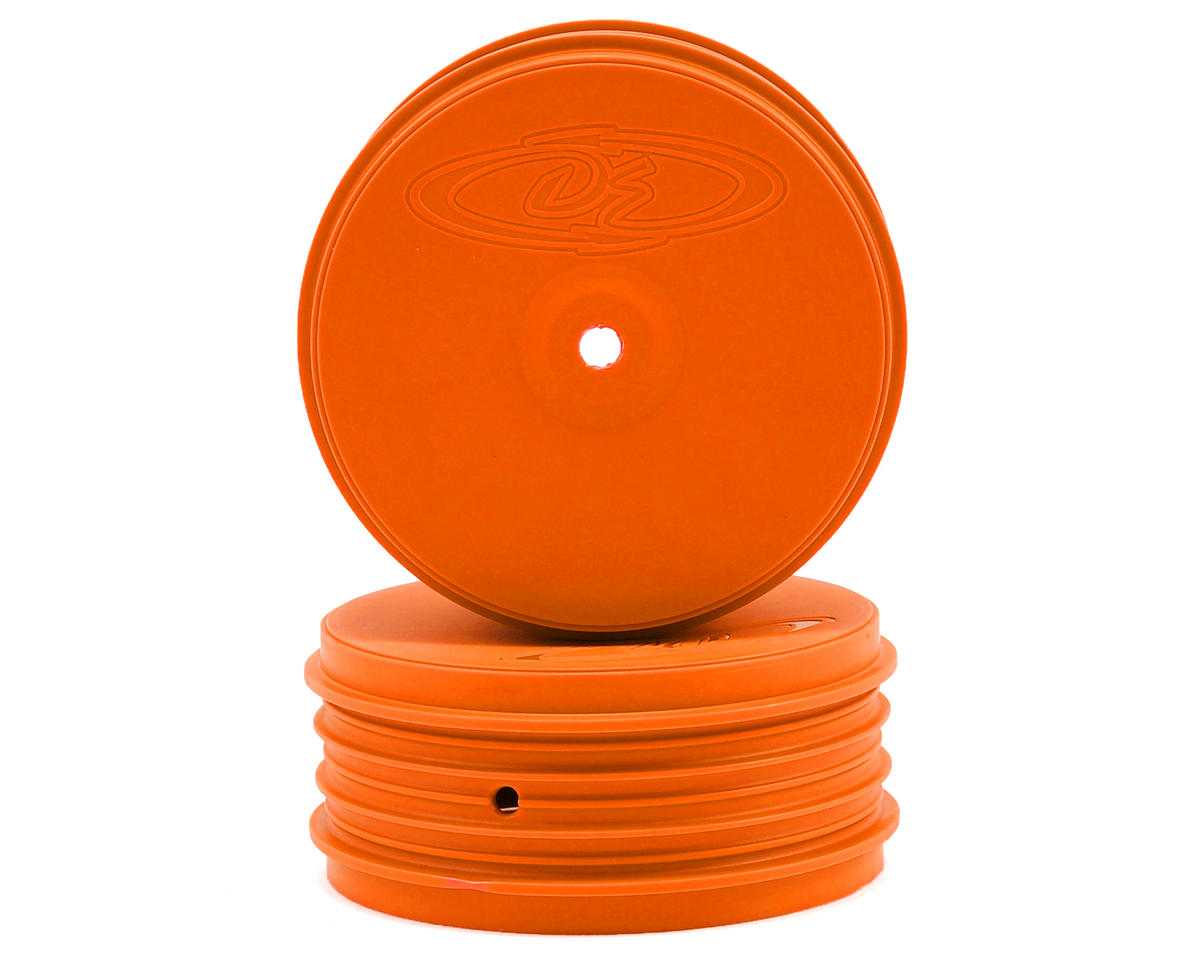 Speedline PLUS 2.4 4WD Front Buggy Wheel (2) (Orange) by DE Racing
