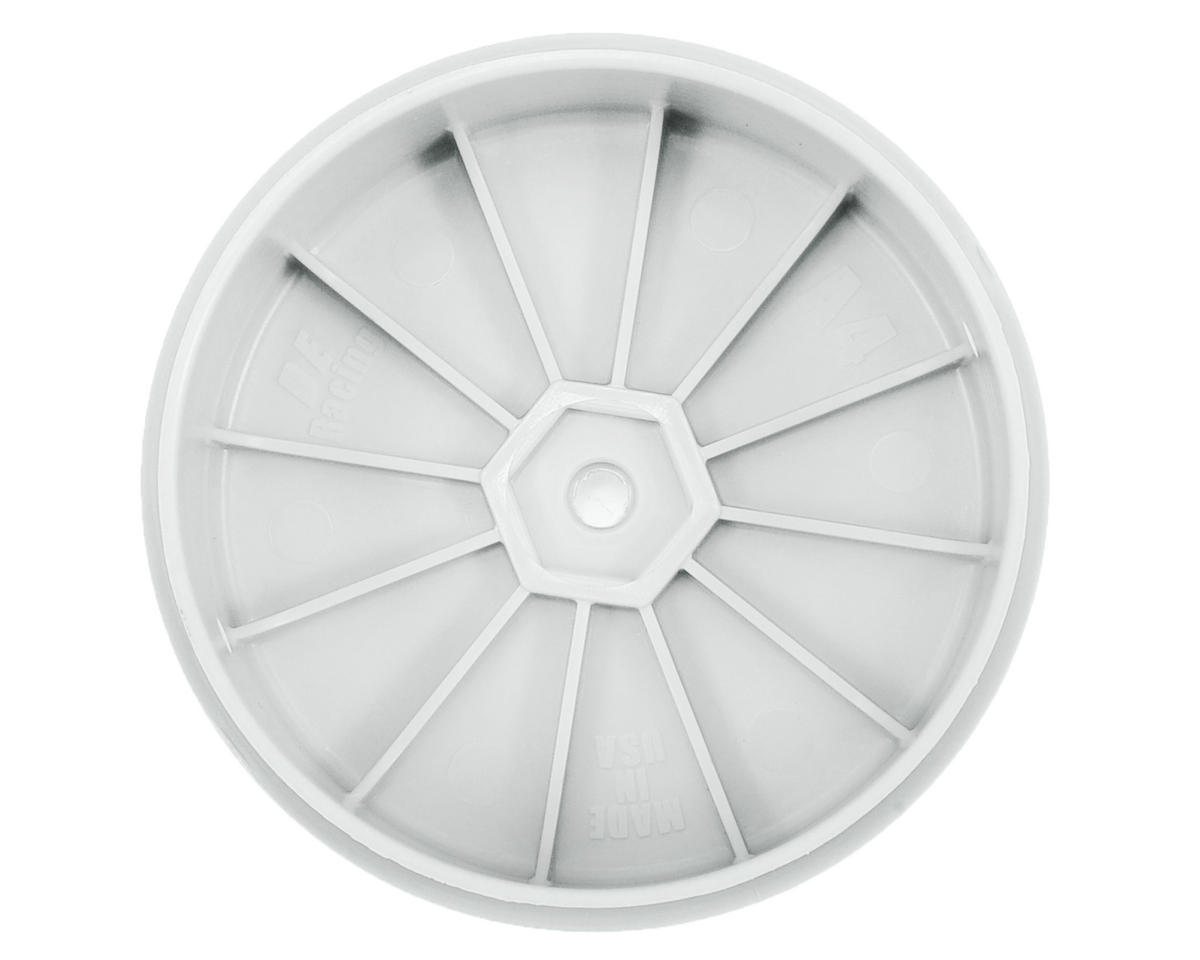 DE Racing Speedline PLUS 2.4 4WD Front Buggy Wheel (2) (White)
