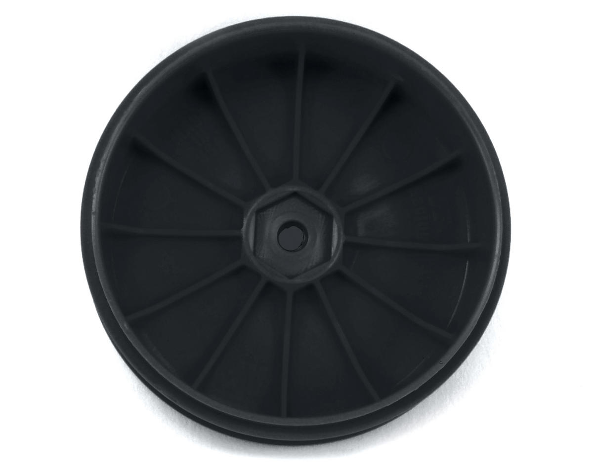 DE Racing Speedline PLUS 2.4 1/10 Buggy Front Wheel (2) (Black)
