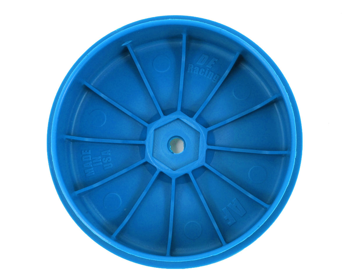DE Racing Speedline PLUS 2.4 1/10 Buggy Front Wheel (2) (Blue)
