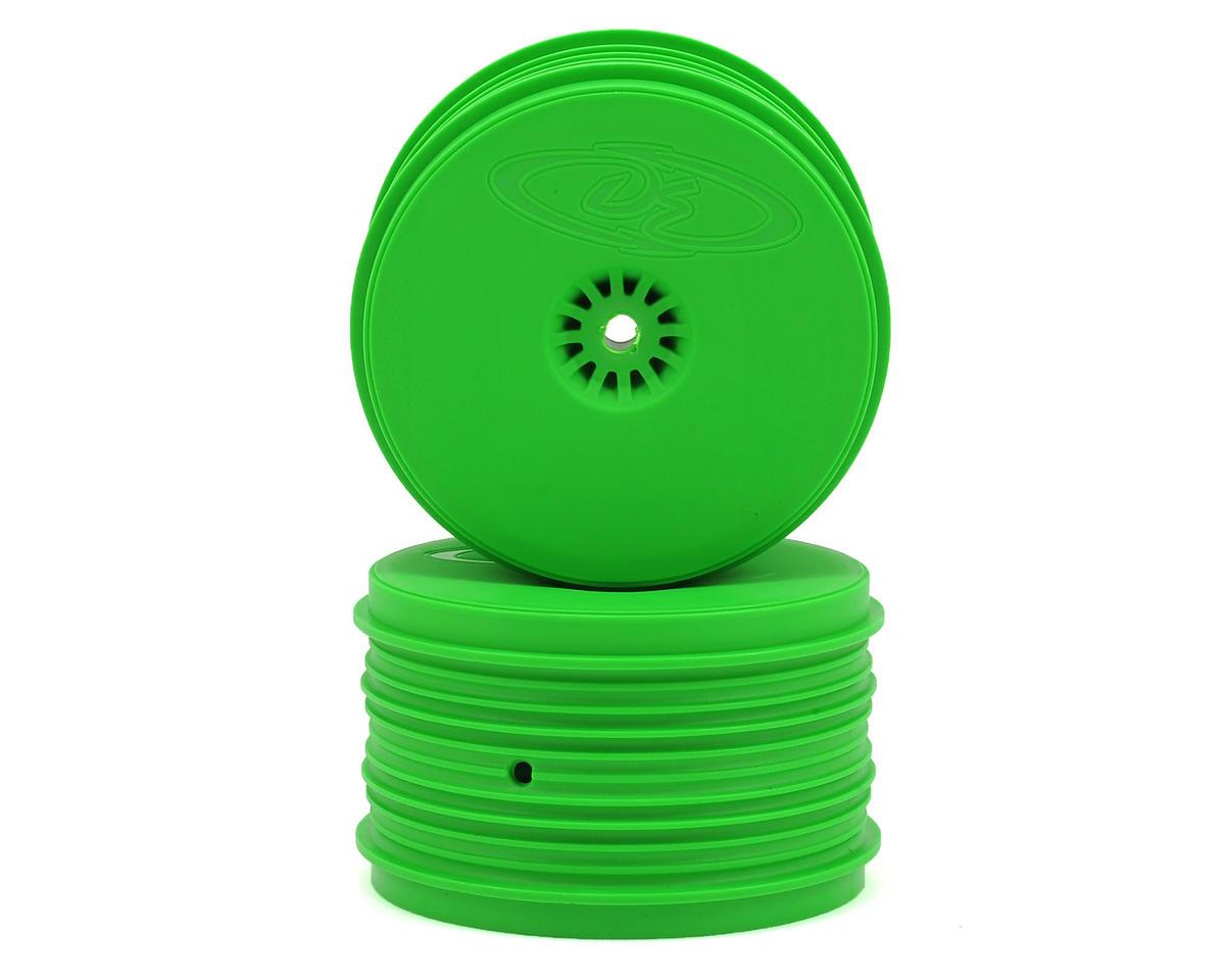 DE Racing Speedline PLUS 2.4 1/10 Buggy Rear Wheel (2) (Green)