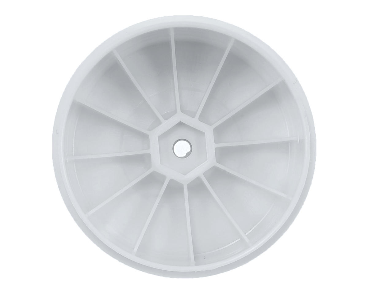 DE Racing Speedline PLUS 2.4 1/10 Buggy Rear Wheel (2) (White)