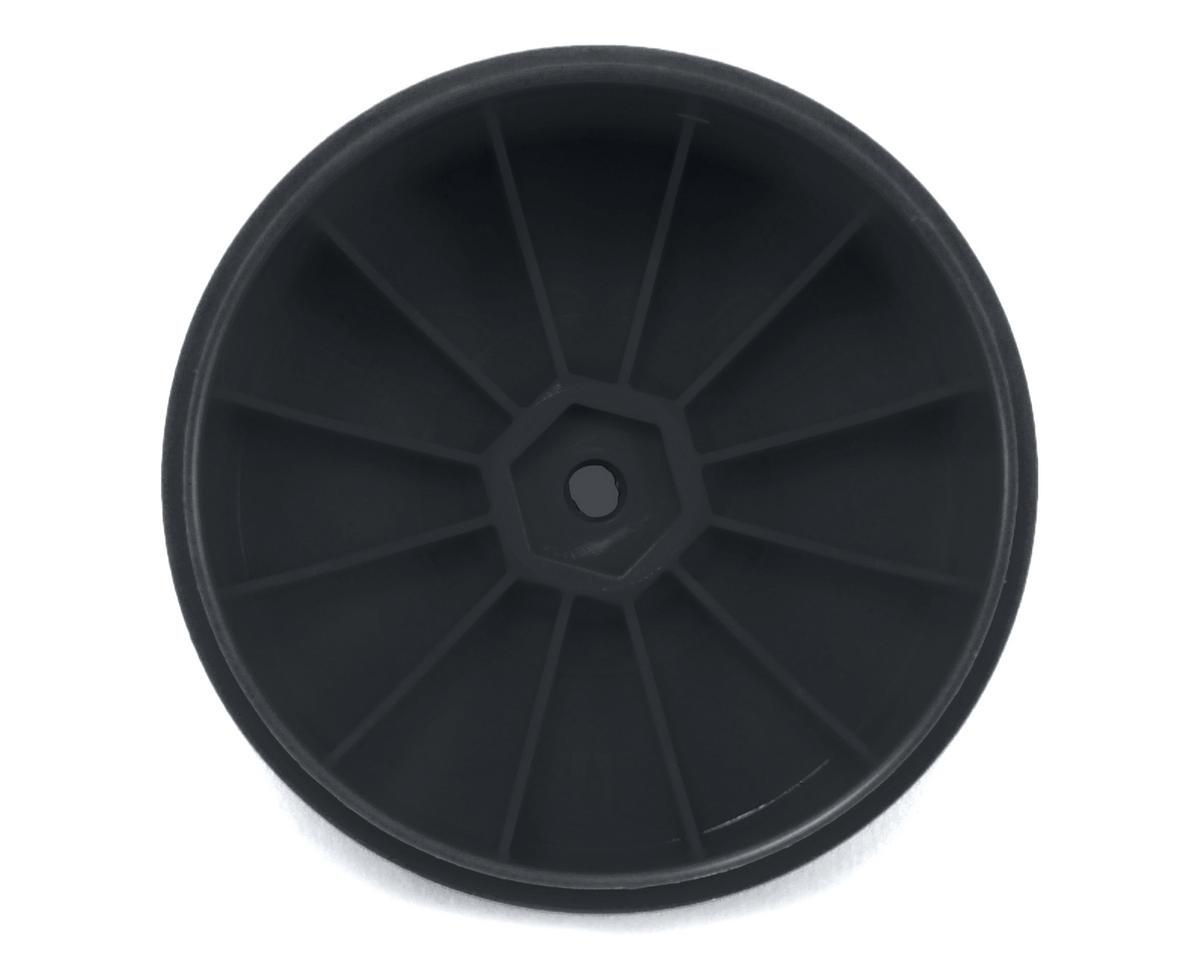 DE Racing Speedline PLUS 2.4 1/10 Buggy Rear Wheel (2) (Black)