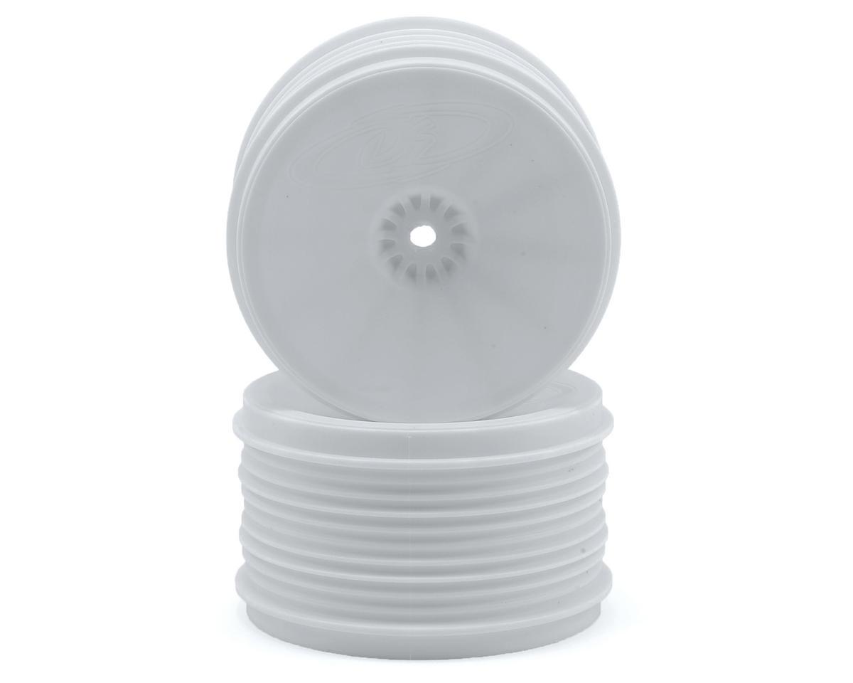 DE Racing Speedline PLUS 2.4 1/10 Buggy Rear Wheel (2) (White)