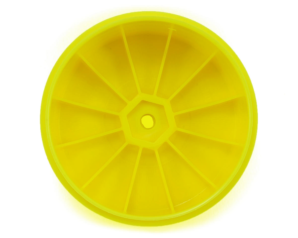 DE Racing Speedline PLUS 2.4 1/10 Buggy Rear Wheel (2) (Yellow)