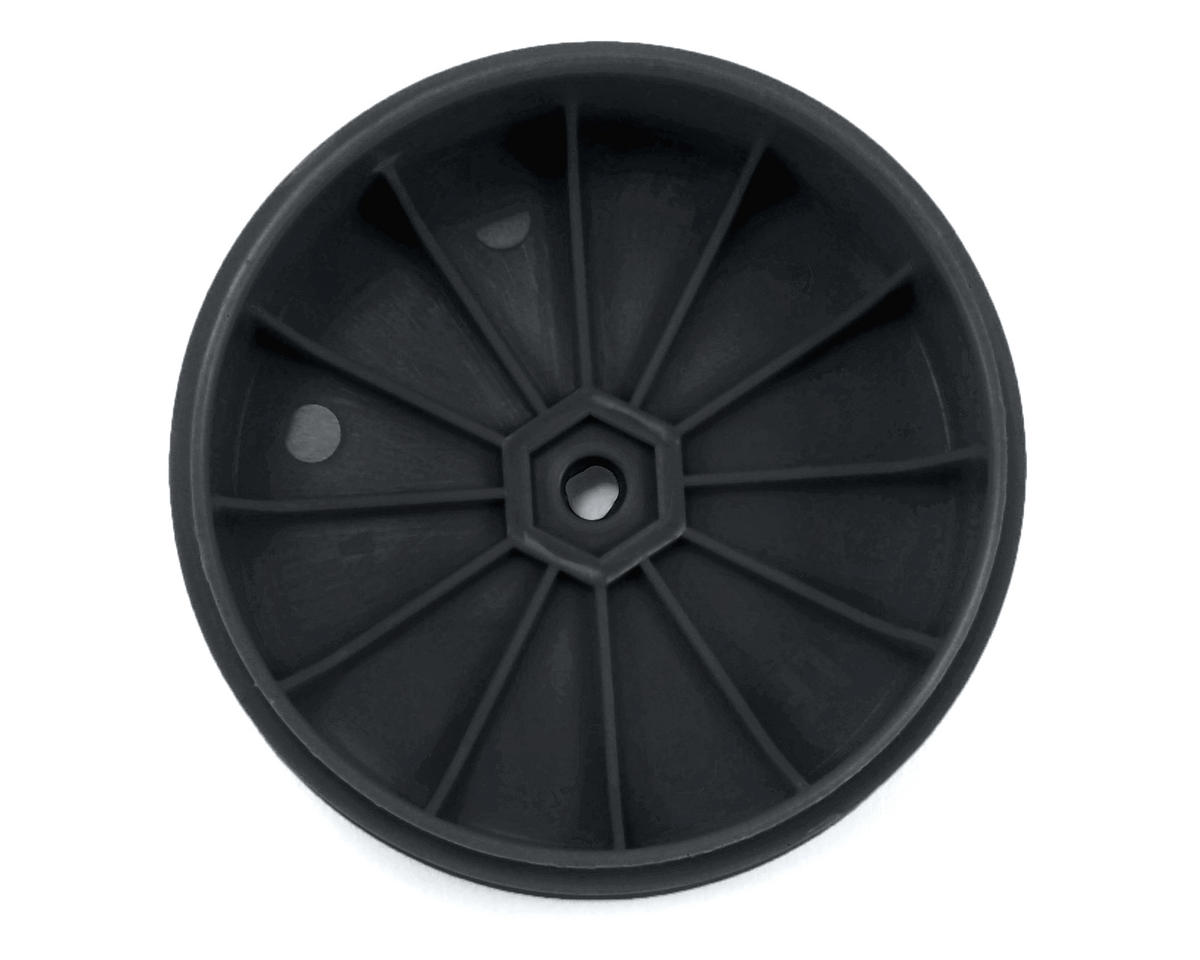 DE Racing Speedline PLUS 2.4 1/10 Buggy Front Wheel (2) (22 2.0) (Black)