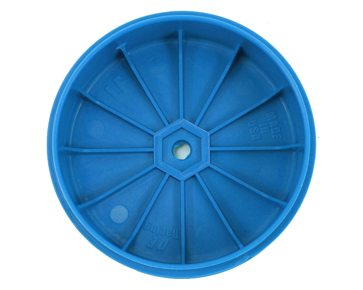 DE Racing Speedline PLUS 2.4 1/10 Buggy Front Wheel (2) (22 2.0) (Blue)