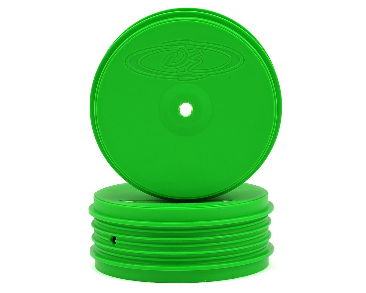 DE Racing Speedline PLUS 2.4 1/10 Buggy Front Wheel (2) (22 2.0) (Green)