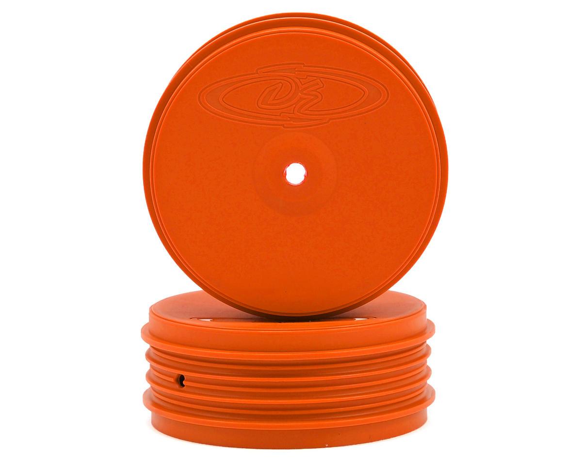 DE Racing Speedline PLUS 2.4 1/10 Buggy Front Wheel (2) (22 2.0) (Orange)