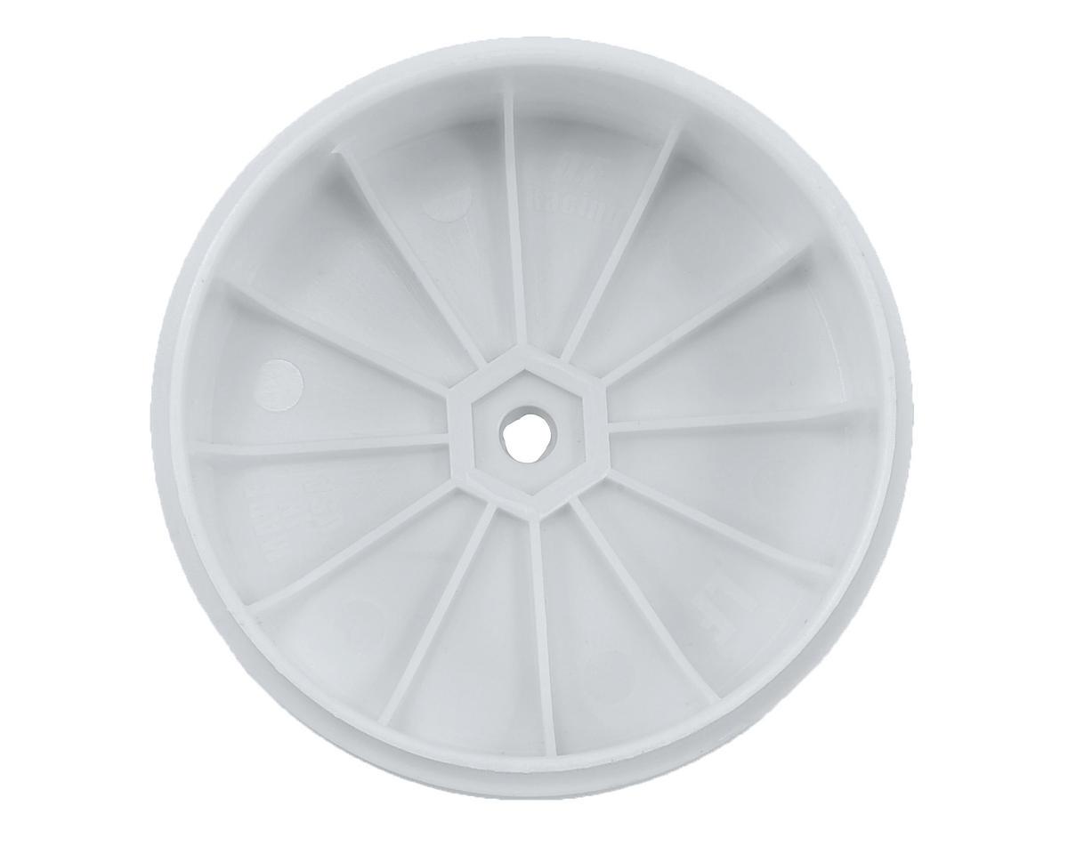 DE Racing Speedline PLUS 2.4 1/10 Buggy Front Wheel (2) (22 2.0) (White)