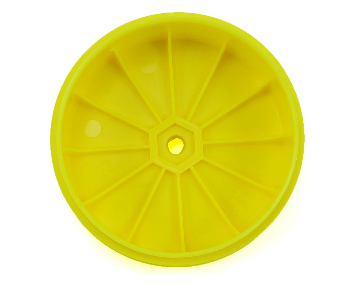 DE Racing Speedline PLUS 2.4 1/10 Buggy Front Wheel (2) (22 2.0) (Yellow)