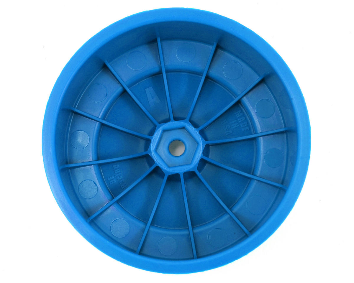 "DE Racing 12mm Hex ""Speedline PLUS"" Short Course Wheels (Blue) (2) (SC5M)"