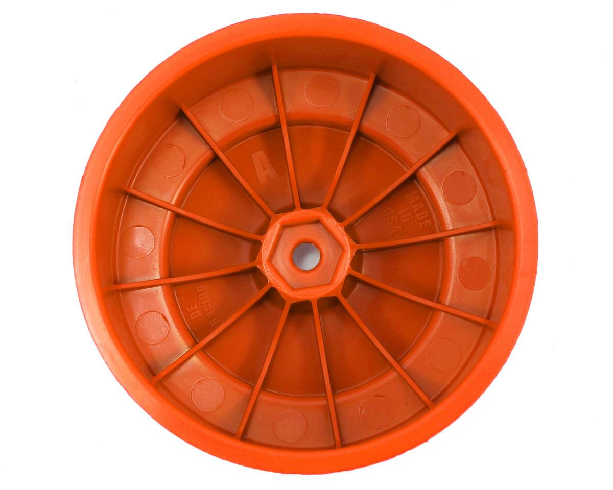 """DE Racing 12mm Hex """"Speedline PLUS"""" Short Course Wheels (Orange) (2) (SC5M)"""