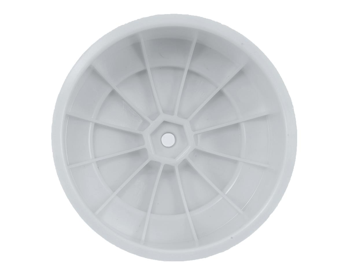 "DE Racing 12mm Hex ""Speedline PLUS"" Short Course Wheels (White) (2) (SC5M)"