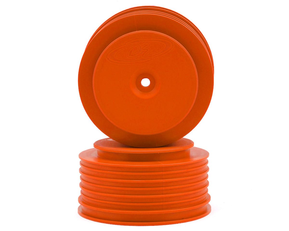 DE Racing Speedline PLUS Short Course Wheel (Orange) (2)