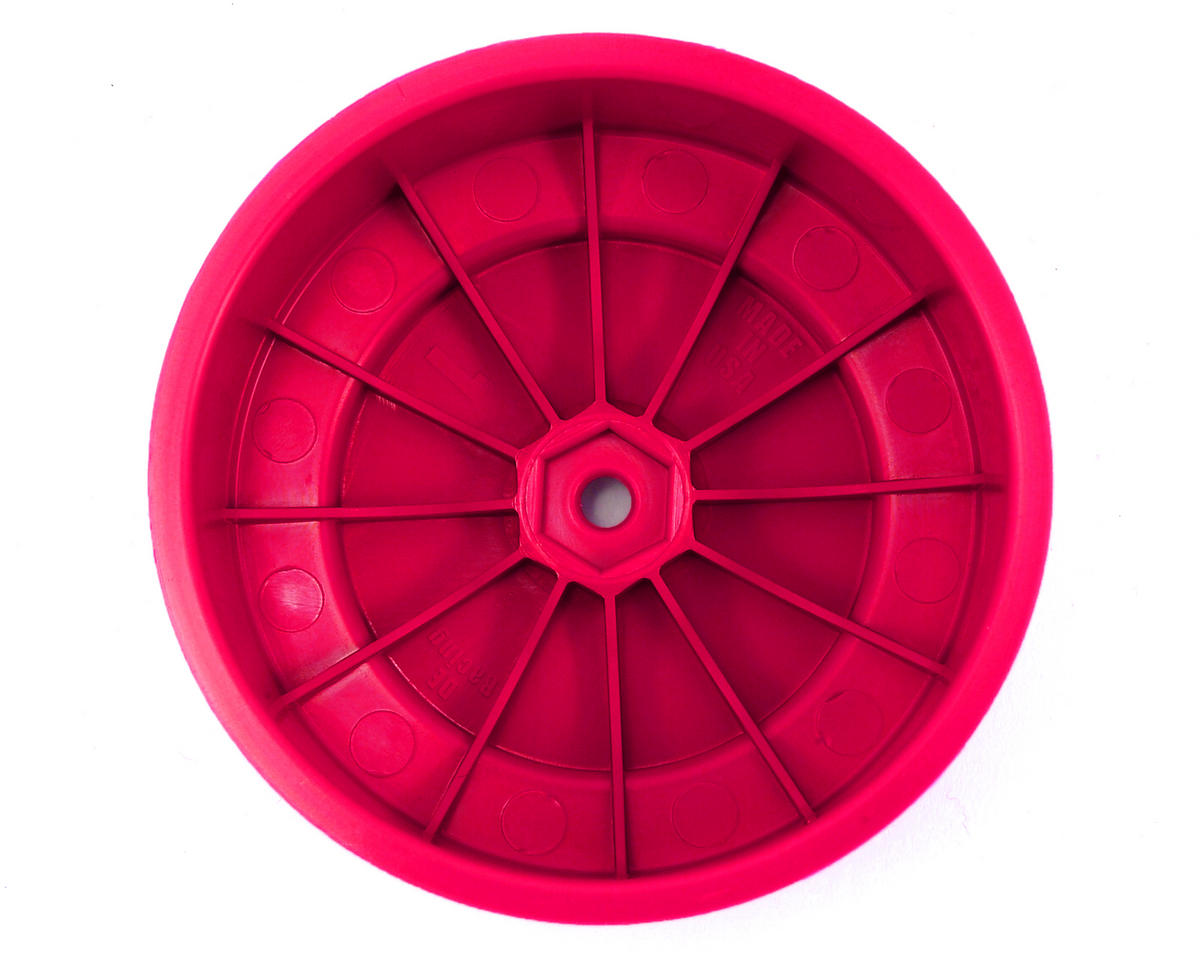 DE Racing Speedline PLUS Short Course Wheels (Pink) (2)