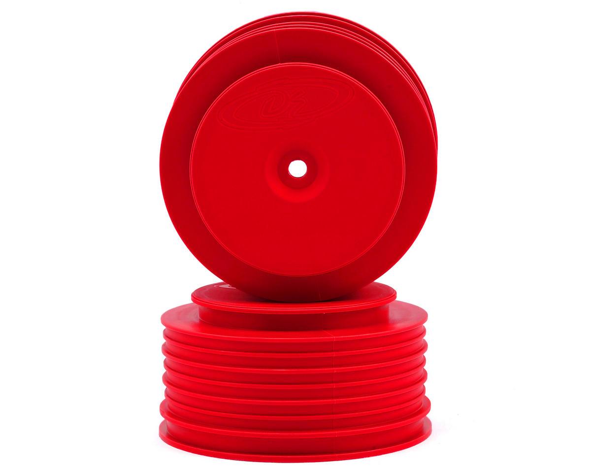 DE Racing Speedline PLUS Short Course Wheels (Red) (2)