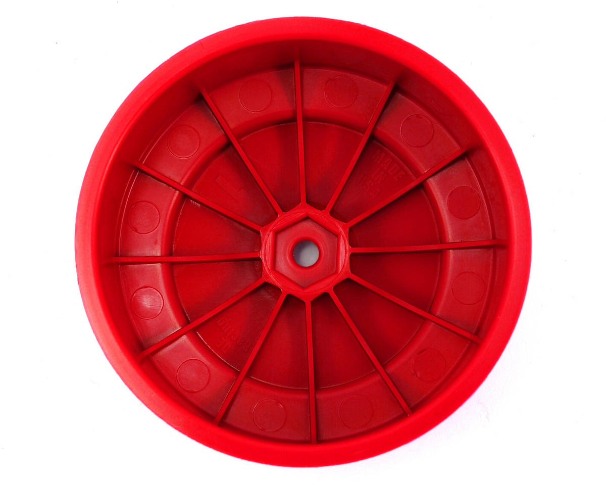 DE Racing Speedline PLUS Short Course Wheels (Red) (2)