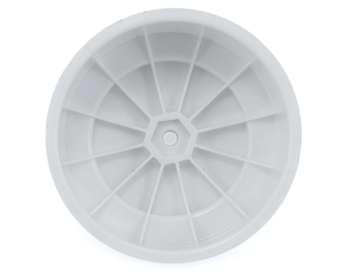 DE Racing Speedline PLUS Short Course Wheels (White) (2)