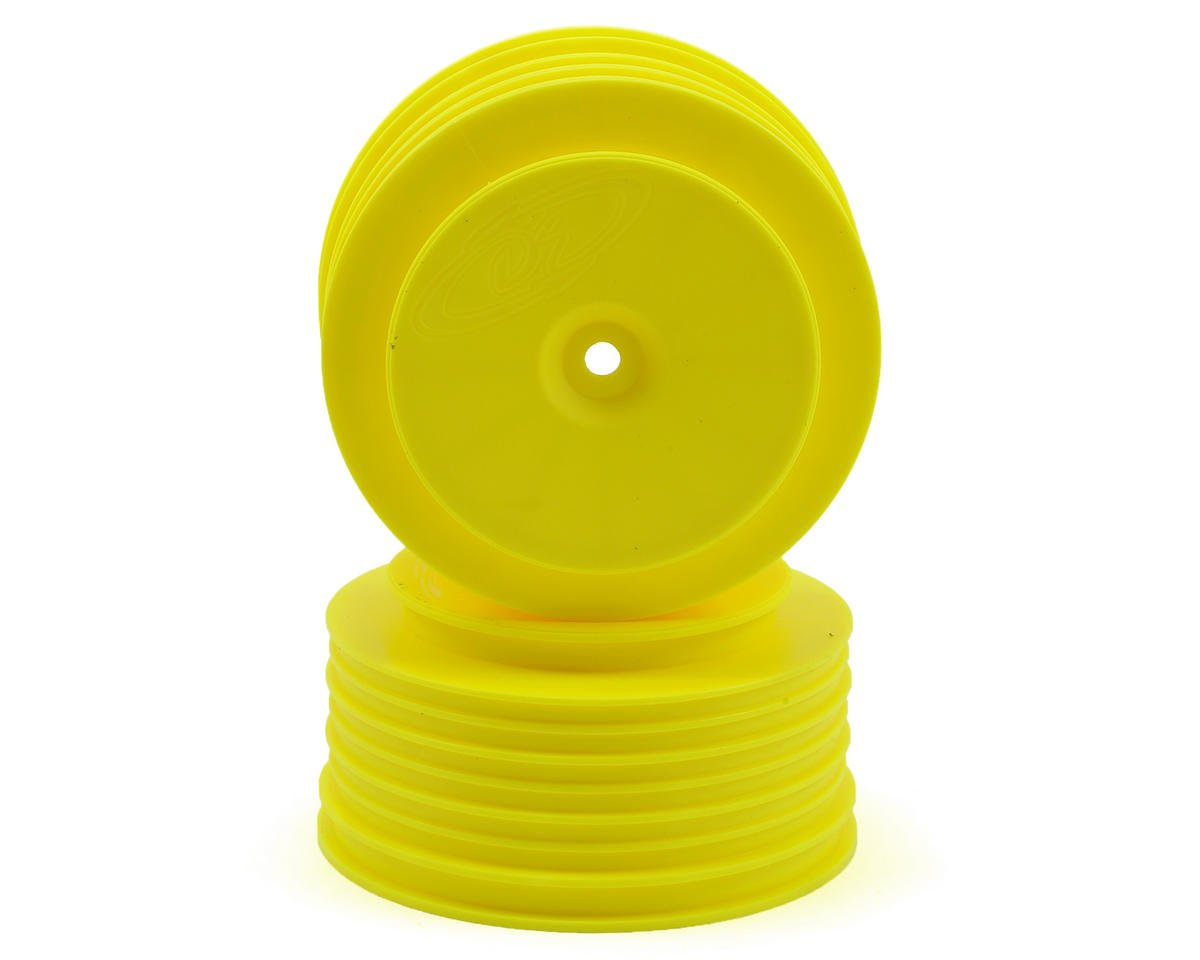 Speedline PLUS Short Course Wheels (Yellow) (2) by DE Racing