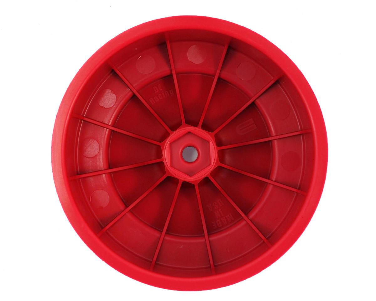 DE Racing Speedline PLUS Short Course Wheels (Red) (2) (SC6/Slash/Blitz)