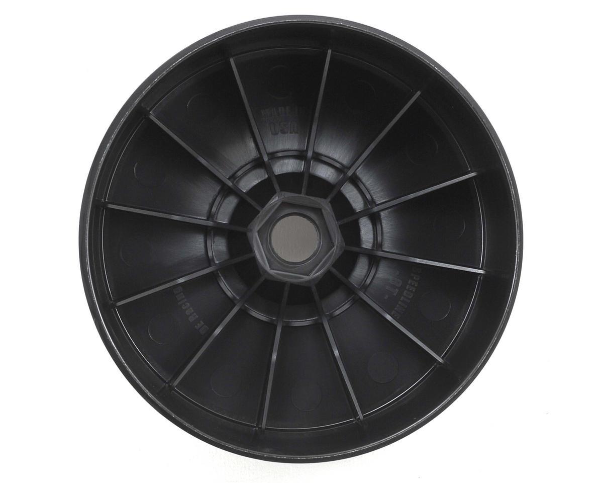 """DE Racing """"SpeedLine PLUS"""" 1/8 Truggy Wheel (2) (Black)"""