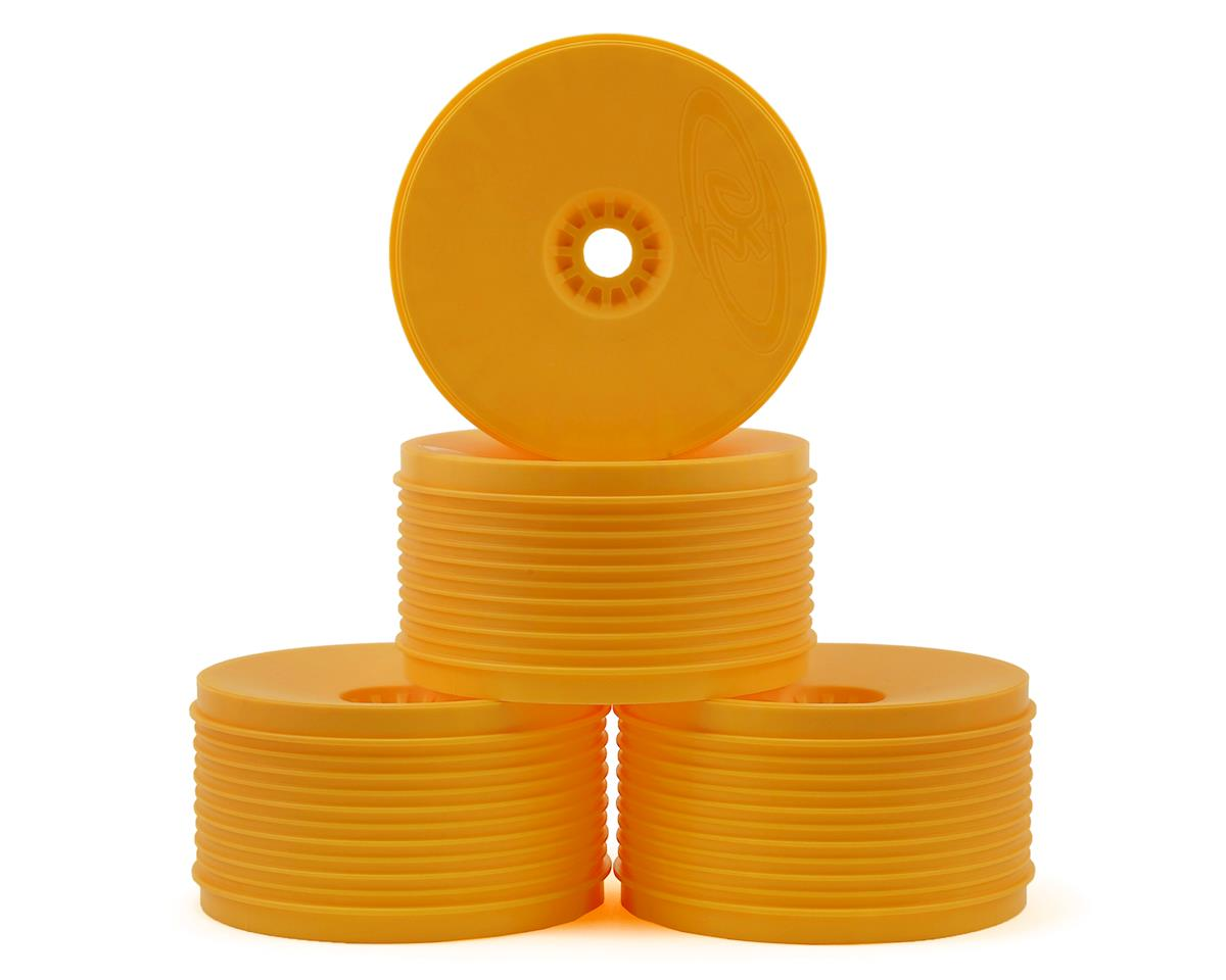 """DE Racing """"SpeedLine PLUS"""" 1/8 Truggy Wheel (4) (Orange)"""