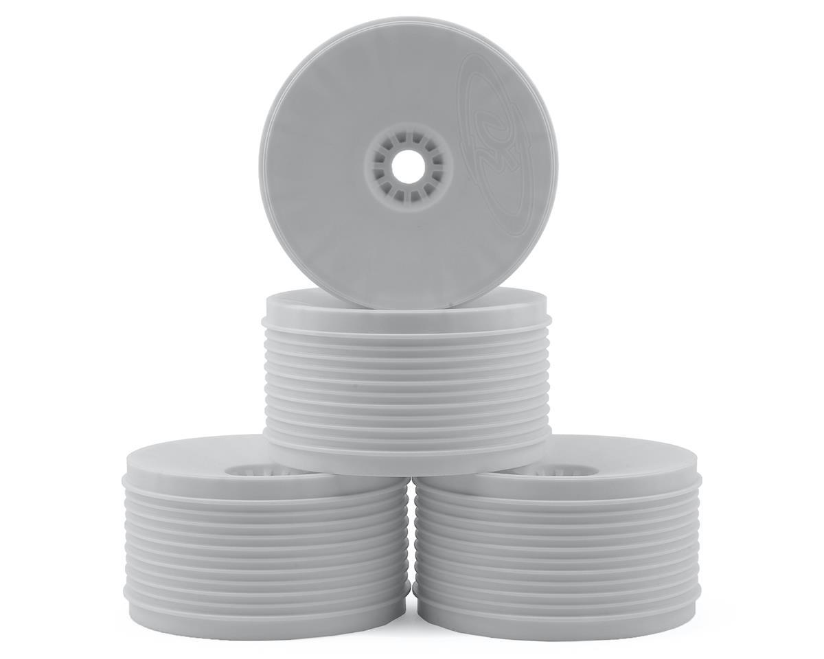 """DE Racing """"SpeedLine PLUS"""" 1/8 Truggy Wheel (4) (White)"""