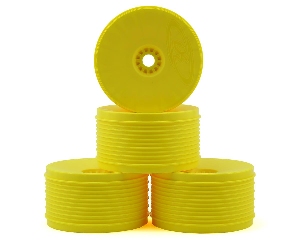 "DE Racing ""SpeedLine PLUS"" 1/8 Truggy Wheel (4) (Yellow)"