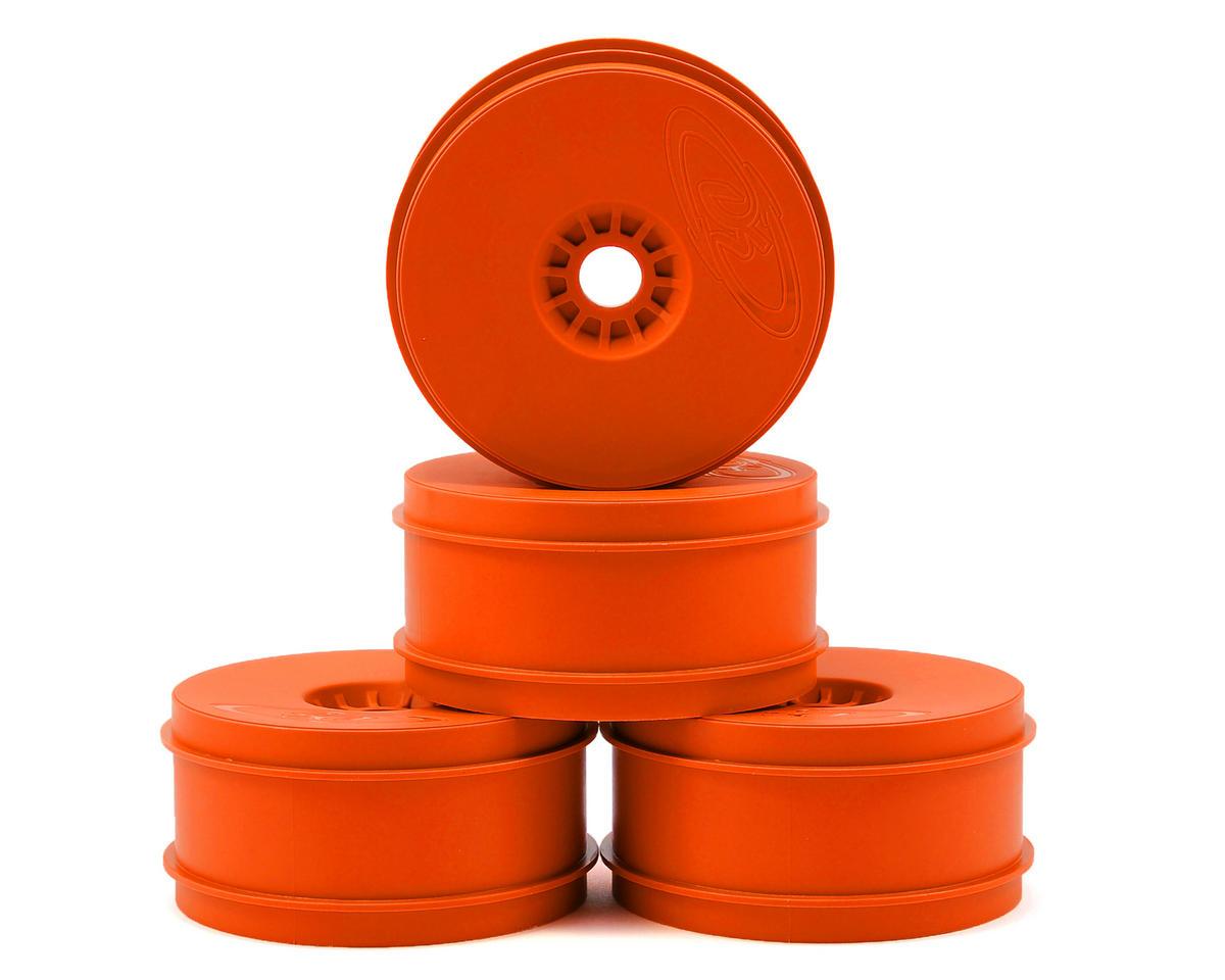 """DE Racing """"Speedline"""" 1/8 Buggy Wheels (4) (Orange)"""
