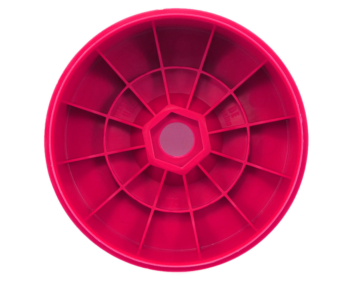 """Speedline"" 1/8 Buggy Wheels (4) (Pink) by DE Racing"